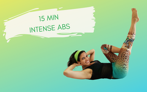 15 minute intense ab workout at home