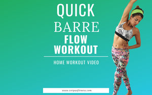 15 min Barre Workout for Women | Total Body Toning