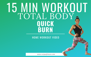 15 min Total Body Home Workout