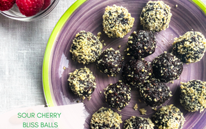 Sour Cherry Vegan Bliss Ball Recipe