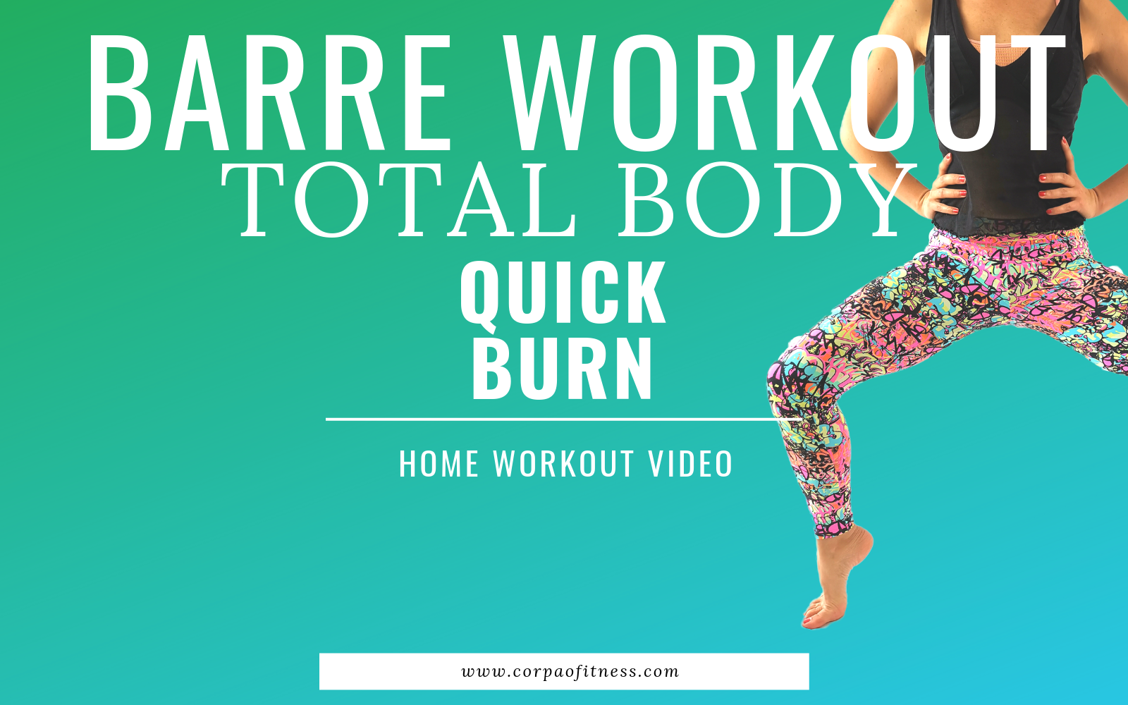BARRE WORKOUT FULL BODY SCULPTING