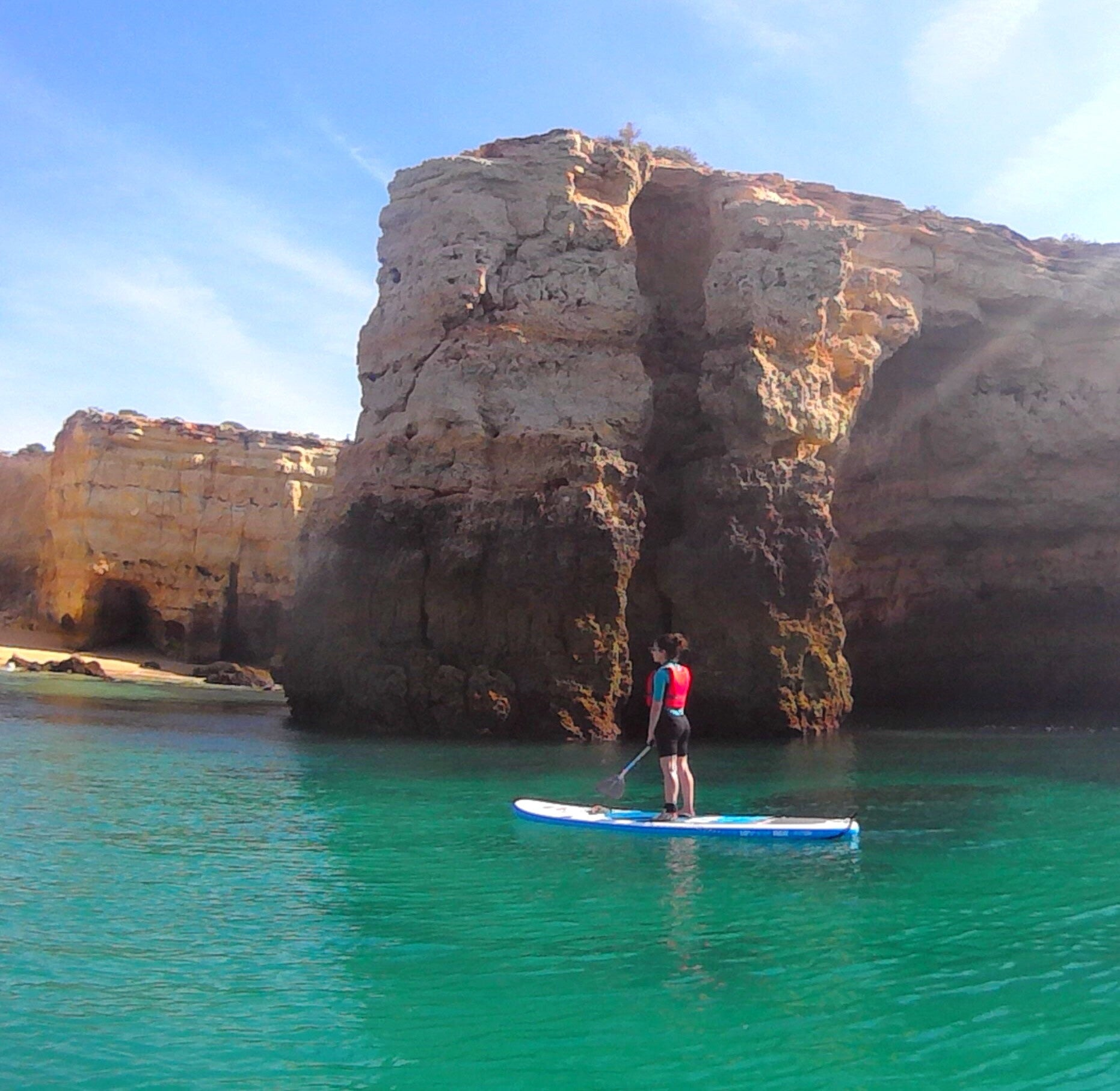Review: SUP in the Algarve with BluXperiences