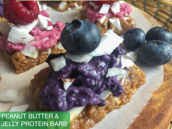 Peanut Butter & Jelly Protein Bars