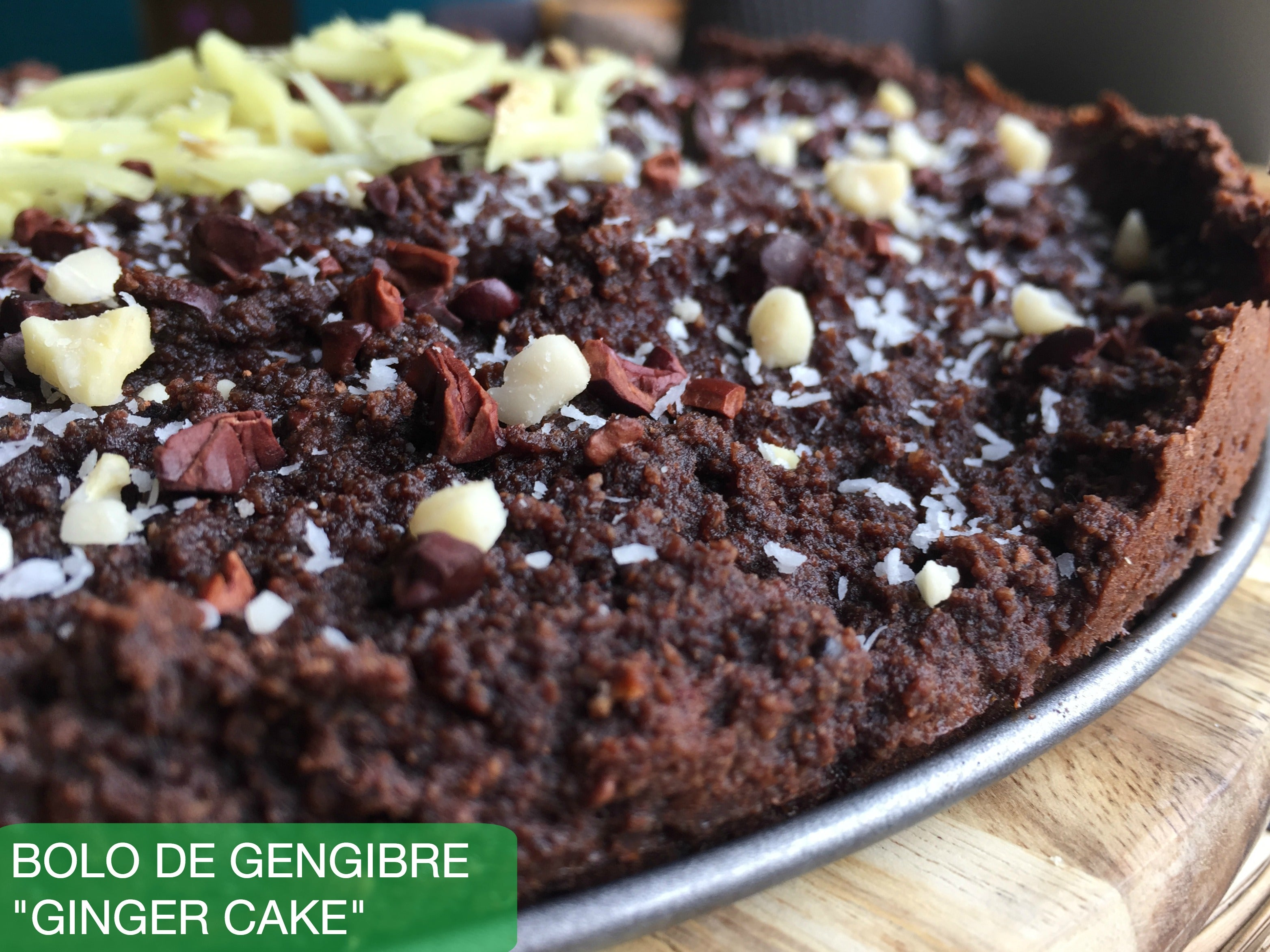 Chocolate & Ginger Cake (Portugal)