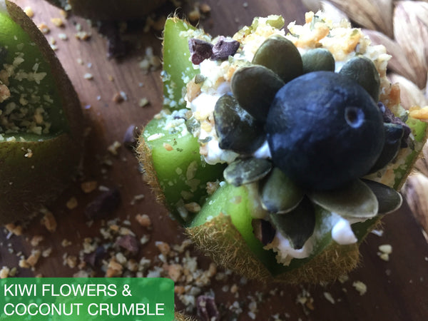 Kiwi Flowers & Coconut Crumble (Quickie)