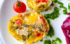 Healthy Breakfast Easy | Baked Frittata Vegetarian