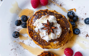 Healthy Pancake Recipe | Pumpkin Pancakes