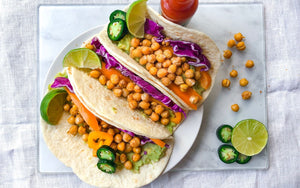 Healthy Quarantine Recipes| BBQ Chickpea Tacos