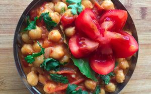 Healthy Quarantine Recipes: Chickpea Curry (Chana Masala)