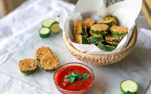 Healthy Quarantine Snack Recipes | Zucchini Fritters
