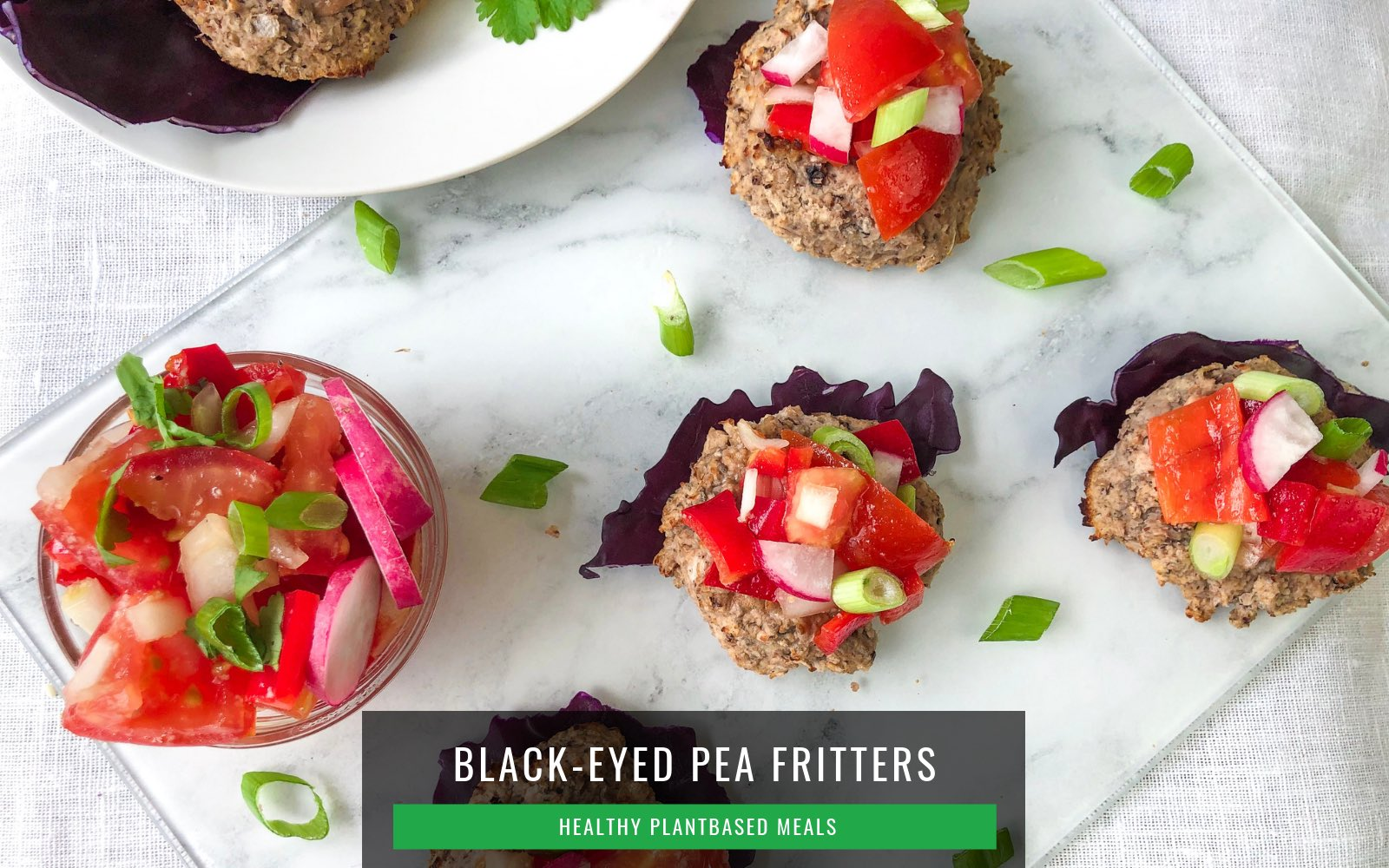 Healthy Quick Dinners | Black-Eyed Pea Fritters
