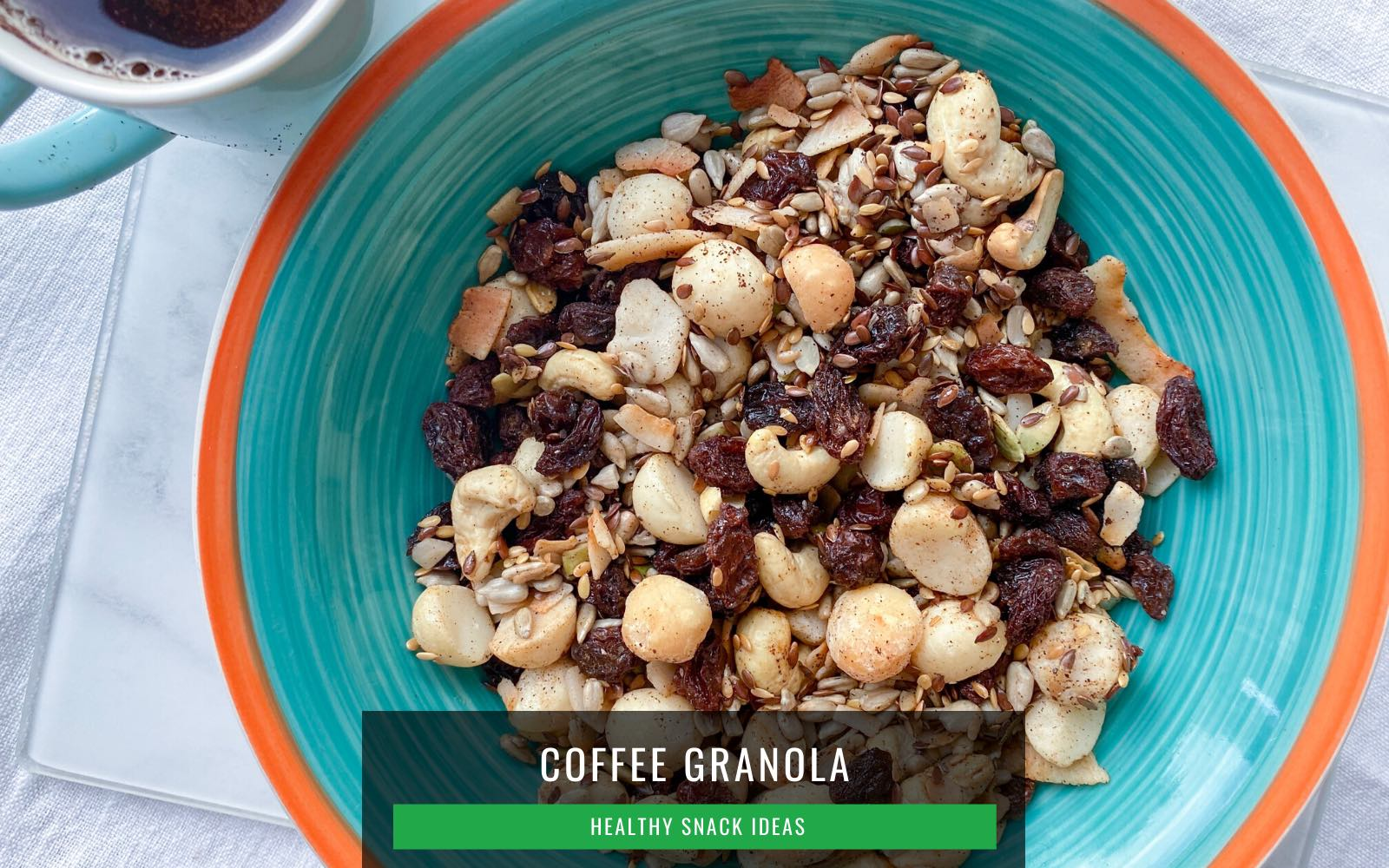 Healthy Snack for Work_Coffee Granola_