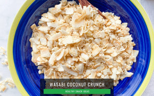 Healthy snack for work_Wasabi Coconut Crunch