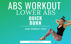 Intense 10 min Lower Abs Workout - Best Exercises for Flat Stomach