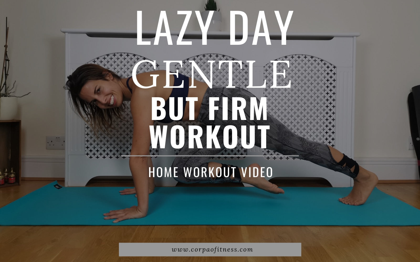Lazy Day Home Workout | Total Body Exercises