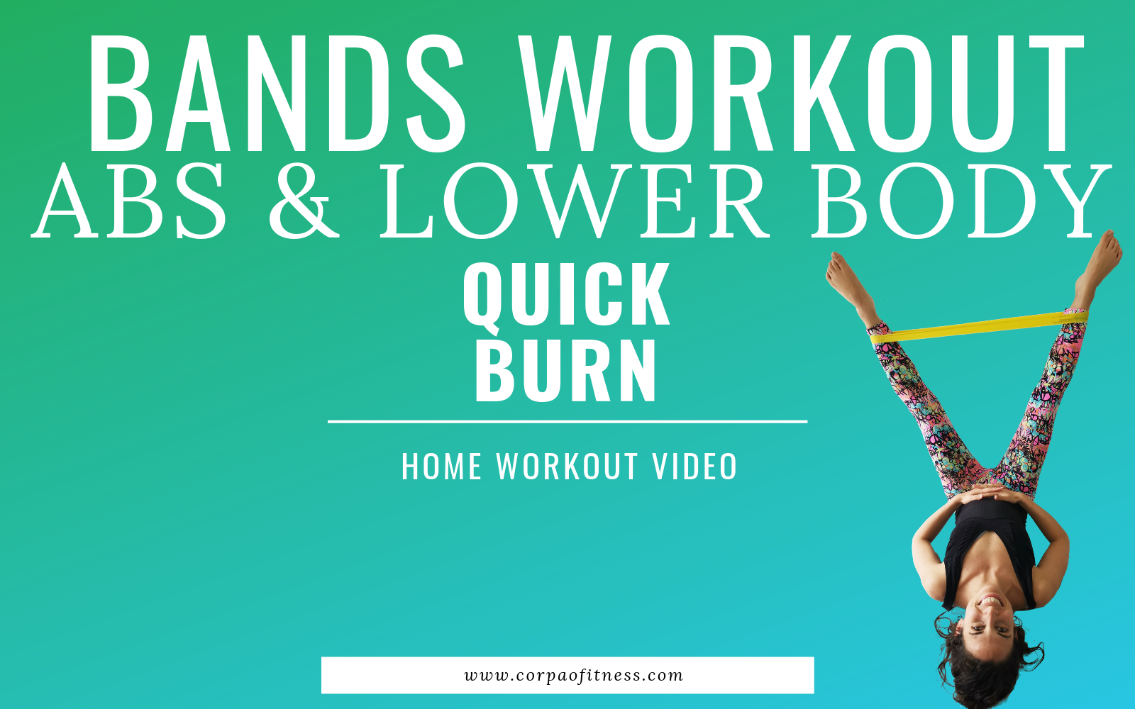 Lower Body Bands Workout and Ab exercises