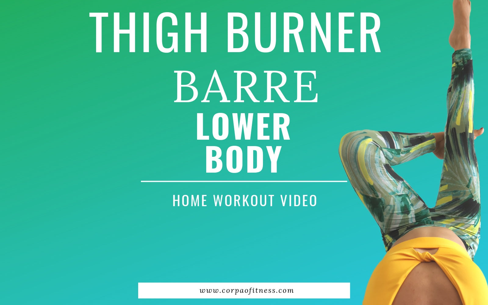 Lower Body Barre Workout | Thigh Exercises for Toned Legs