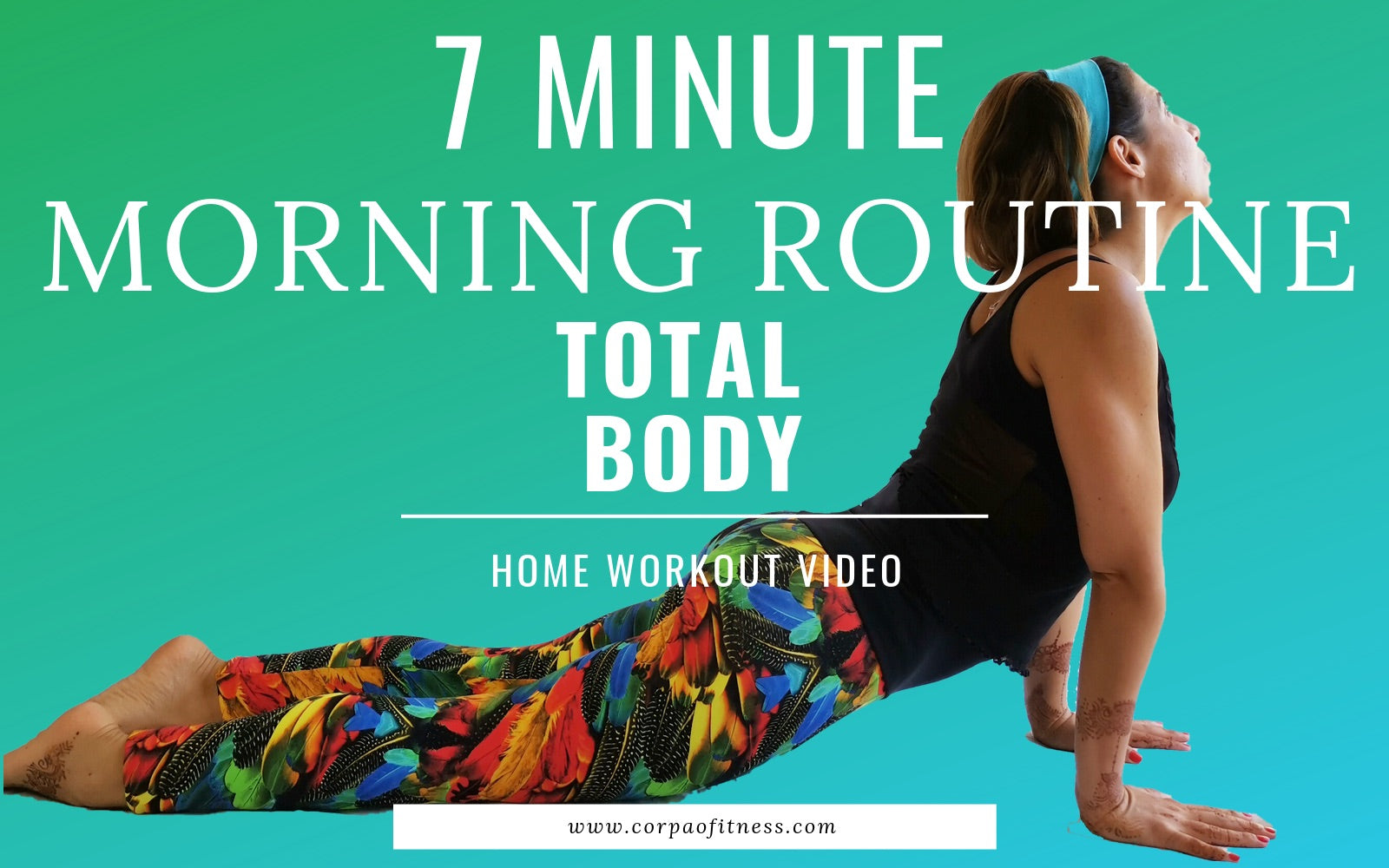 Morning Workout Routine | 7 minute fat burning morning routine for women