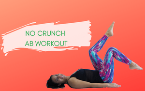 No Crunch Ab Workout Video