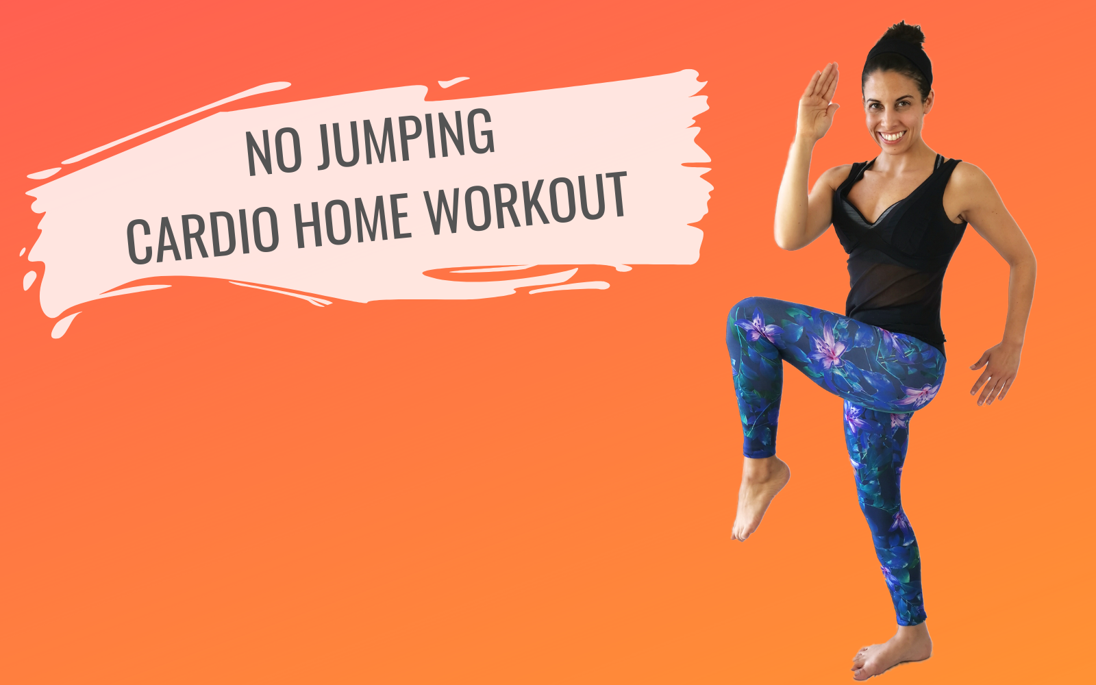 Apartment Friendly Cardio | Cardio Workout At Home - No Jumping
