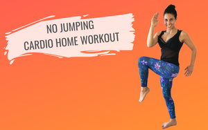 No Jumping Cardio Home Workout Video