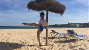 Travel Workout, Barre Workout