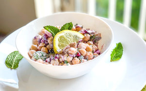 Quick Healthy Easy Meals | Easy Chickpea Salad Recipe