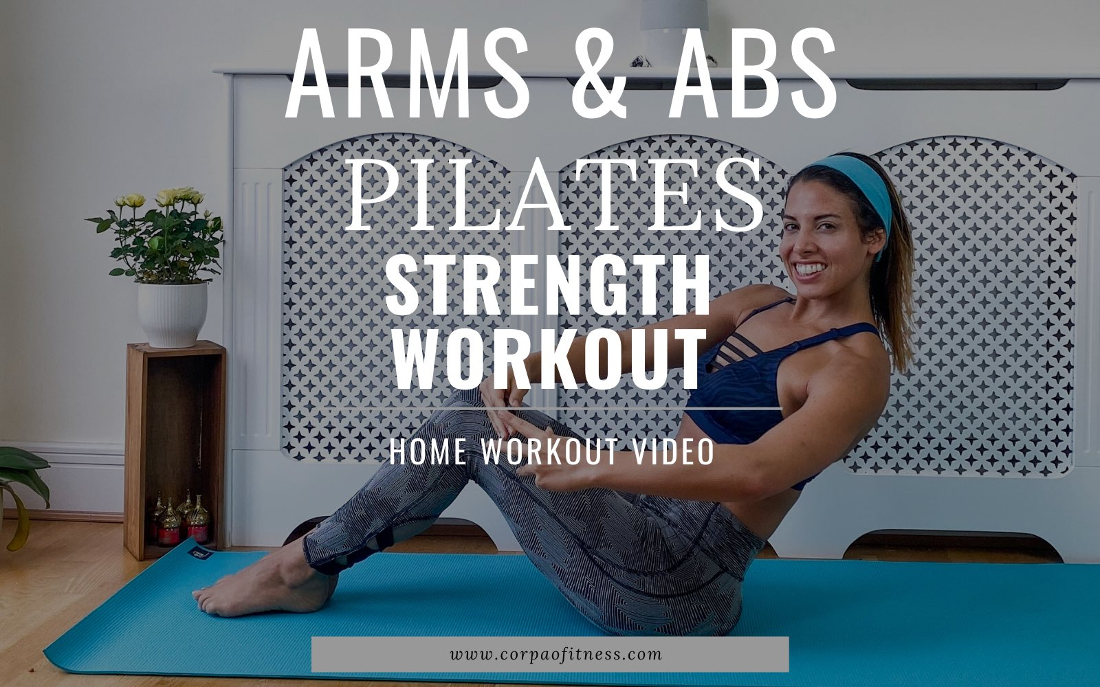Quick Pilates Workout | Toned Arms and Abs