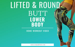 Round Butt Workout | Lift and Tone Butt