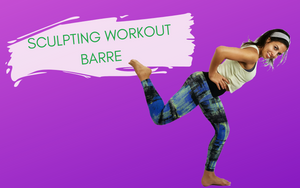 YouTube Sculpting Barre Workout