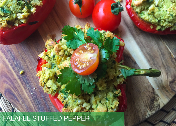 Falafel Stuffed Peppers
