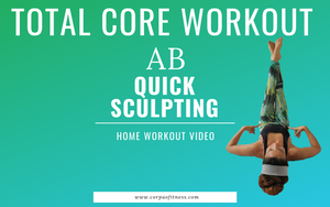 Total core/ab workout | Home workout | No equipment