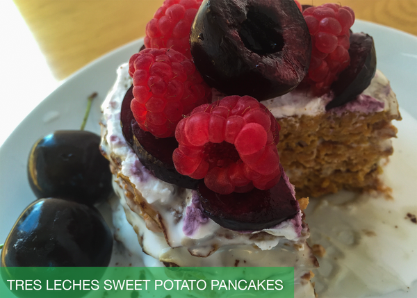 Tres Leches Sweet Potato Pancakes (Latin America)