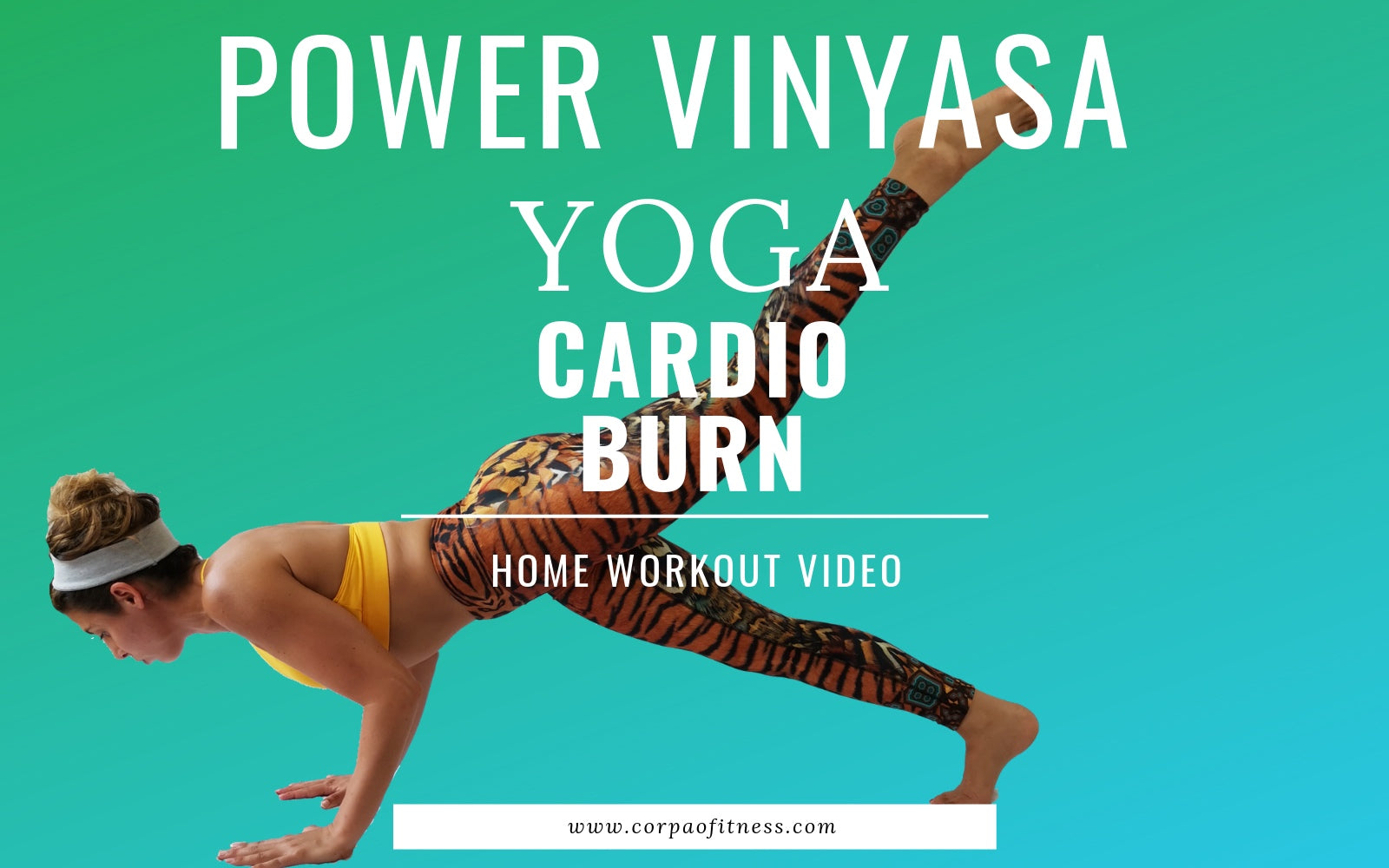 Yoga Workout | 20 minute Power Yoga Flow Advanced