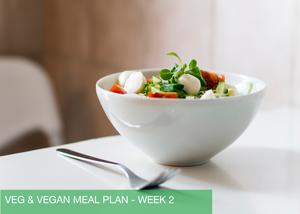 WEEK 2 - VEGETARIAN & VEGAN MEAL PLAN