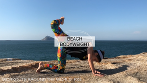 Beach Bodyweight Workout