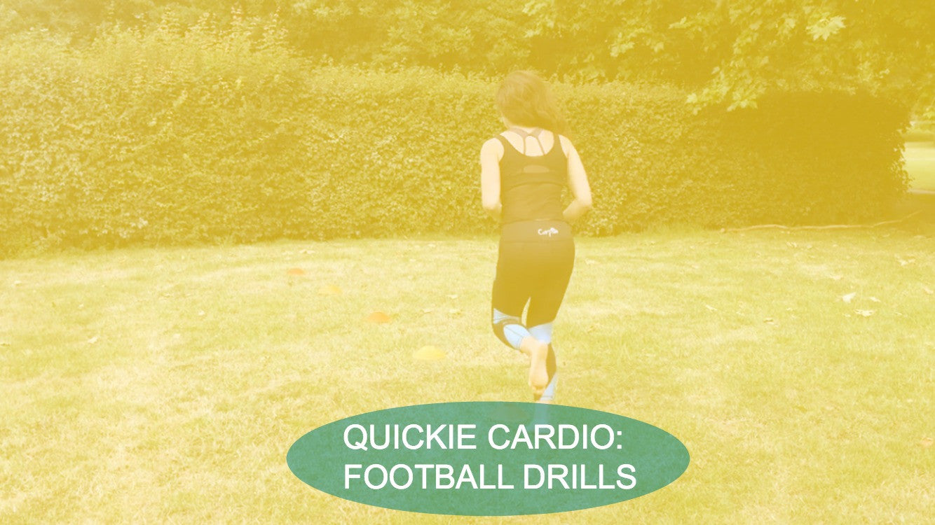 Quickie Cardio: Football Drills
