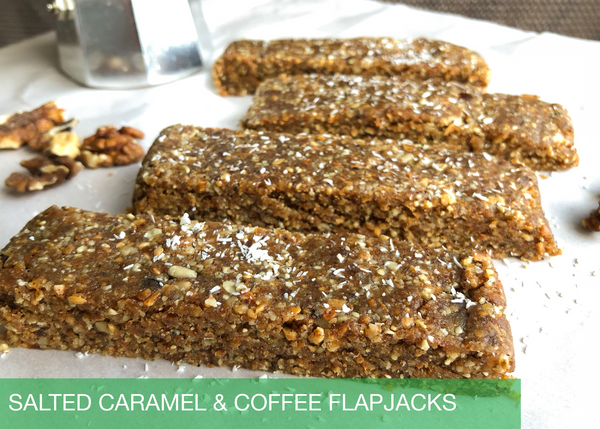 Salted Caramel & Coffee Flapjacks