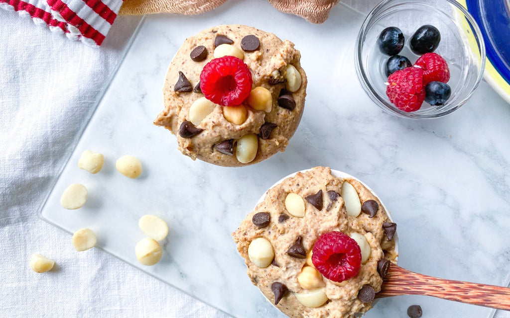 Healthy Dessert Recipes | Chickpea Cookie Dough