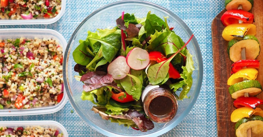 Healthy Meal Prep Ideas for the Week_Fattoush Salad