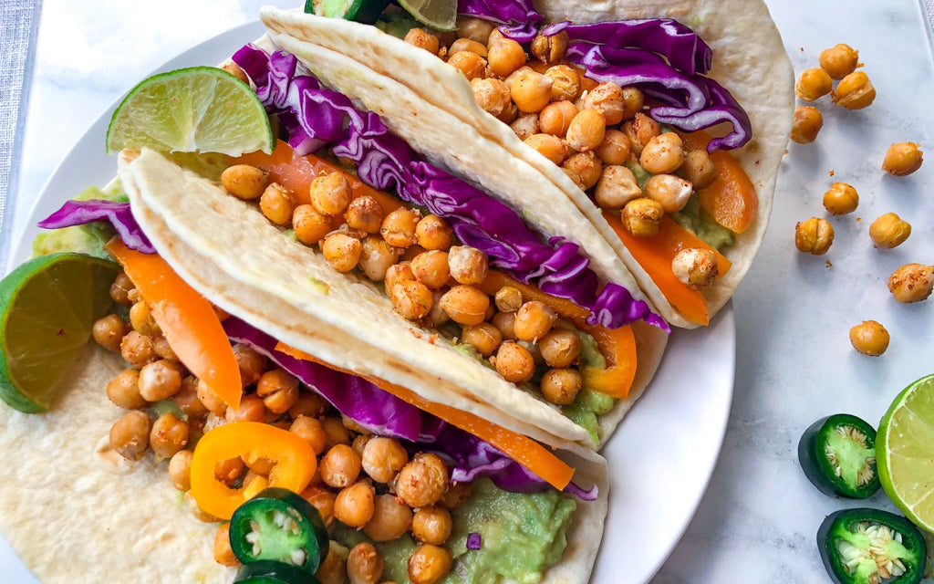 Healthy Quick Meals | BBQ Chickpea Tacos