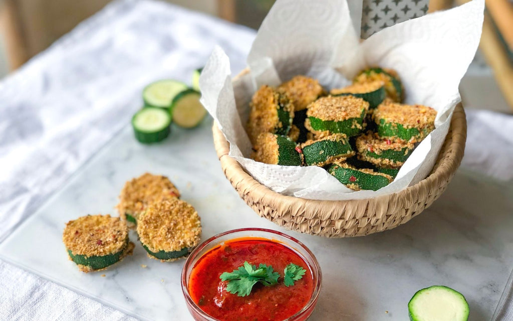 Healthy Snack Recipes   Zucchini Fritters