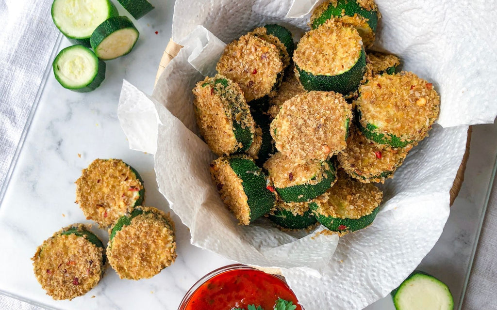 Healthy Snack Recipes | Zucchini Fritters