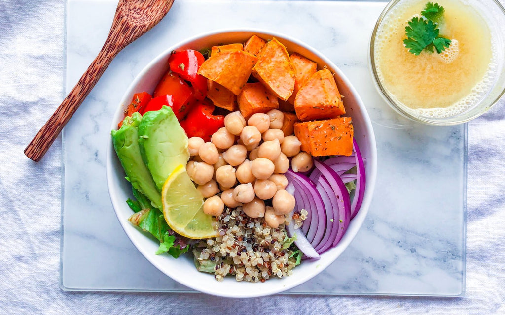 Lunch Ideas for Work | Chickpea Power Bowl
