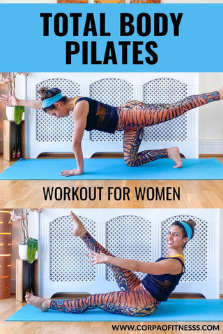Full Body Pilates Workout At Home