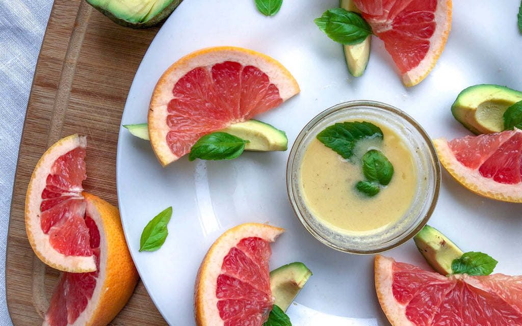 Vegan Snack Ideas_Grapefruit and Avocado Salad
