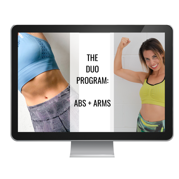 THE DUO PROGRAM - ARMS & ABS (SAVE $10!)