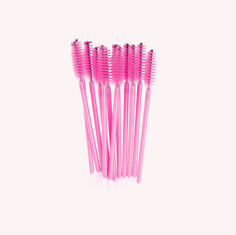 Pink Mascara Wands - 10 or 50 PK