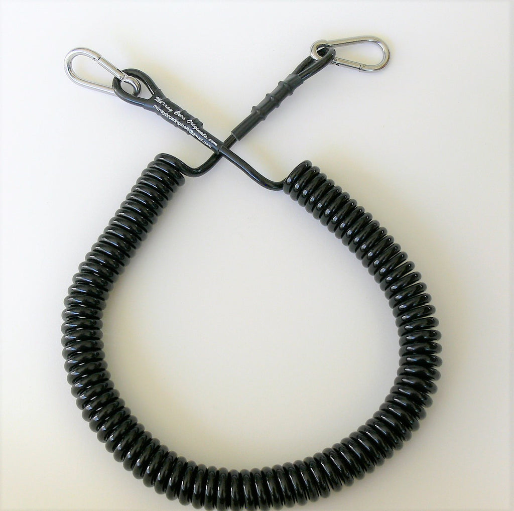 Rod and Reel Coiled Safety Line