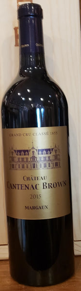 Chateau Cantenac Brown 2015